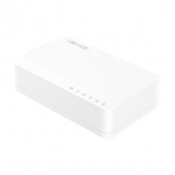Switch Tenda S105, 5x 100 Mbps, desktop, plast